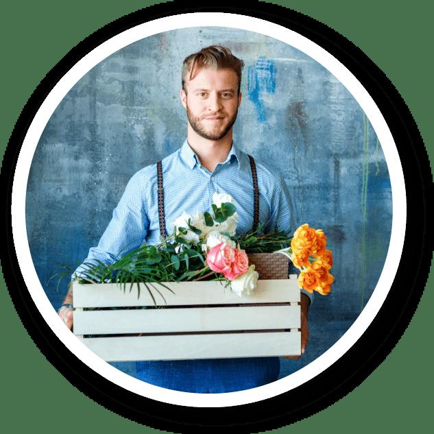 Nos fleuristes sont des professionnels du métier et livrent tous les jours