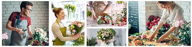 Les artisans fleuristes 123fleurs livrent dans toute la France, tous les jours