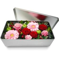 Fleurs remerciement envoyez un magnifique bouquet for Bouquet de fleurs dans une boite