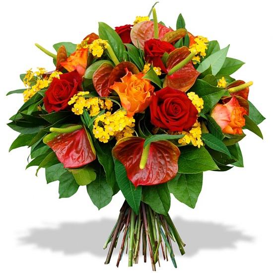 Bouquet big bisous for Bouquet de fleurs 123