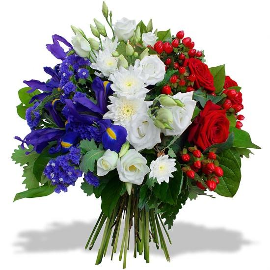 Célèbre Fleurs Deuil - Livraison gerbes de fleurs obsèques | 123fleurs XB87