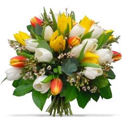 Faites livrer de superbes bouquets ronds en 4h for Bouquet fleuri