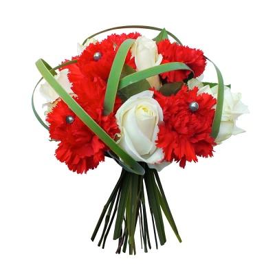 Bouquet coeur tendre livraison en 4h for Bouquet saint valentin