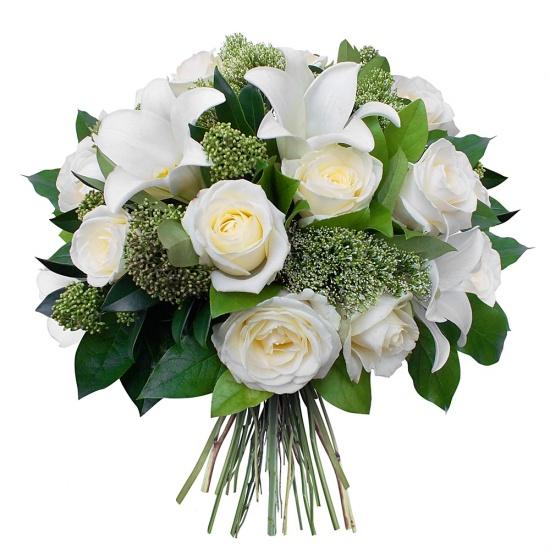 bouquet de fleurs condol ances livraison de fleurs. Black Bedroom Furniture Sets. Home Design Ideas