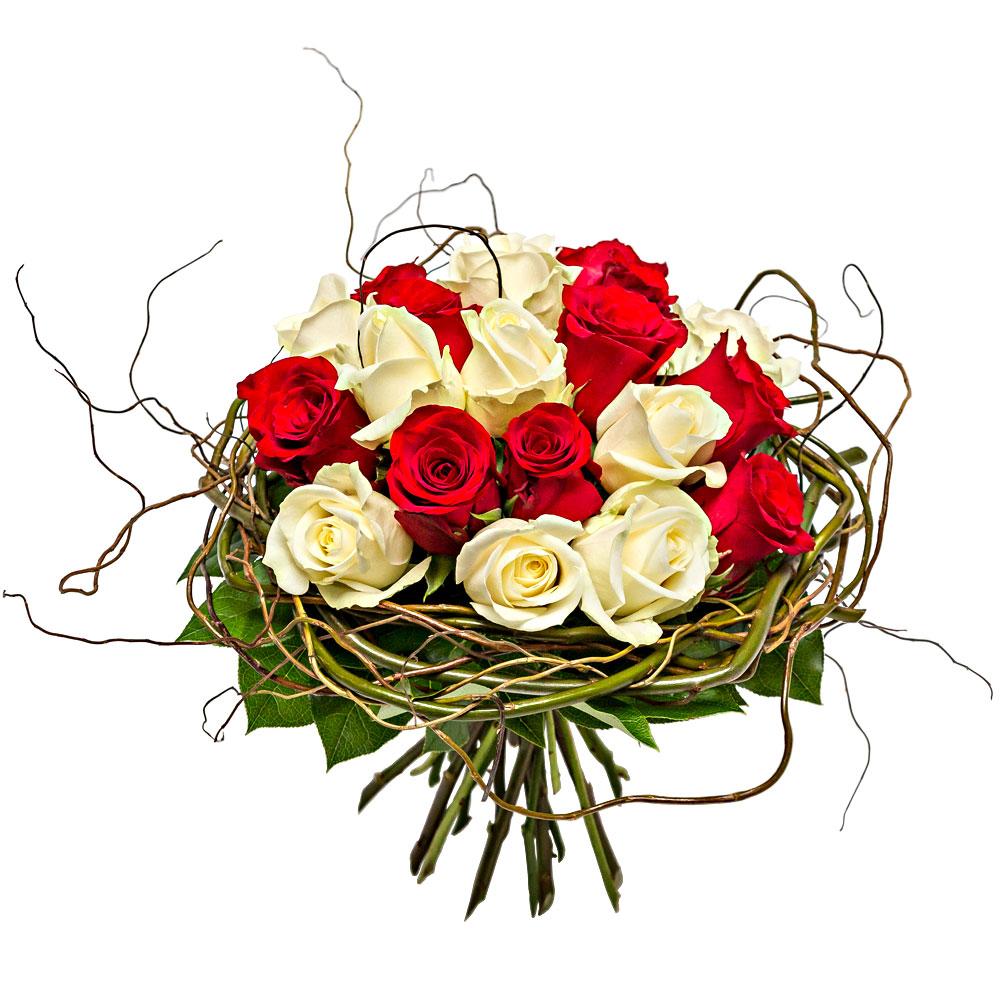 Les roses du fleuriste bouquet de roses amour et toi for Bouquets de roses