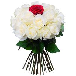 Bouquet de roses Eclat d'amour