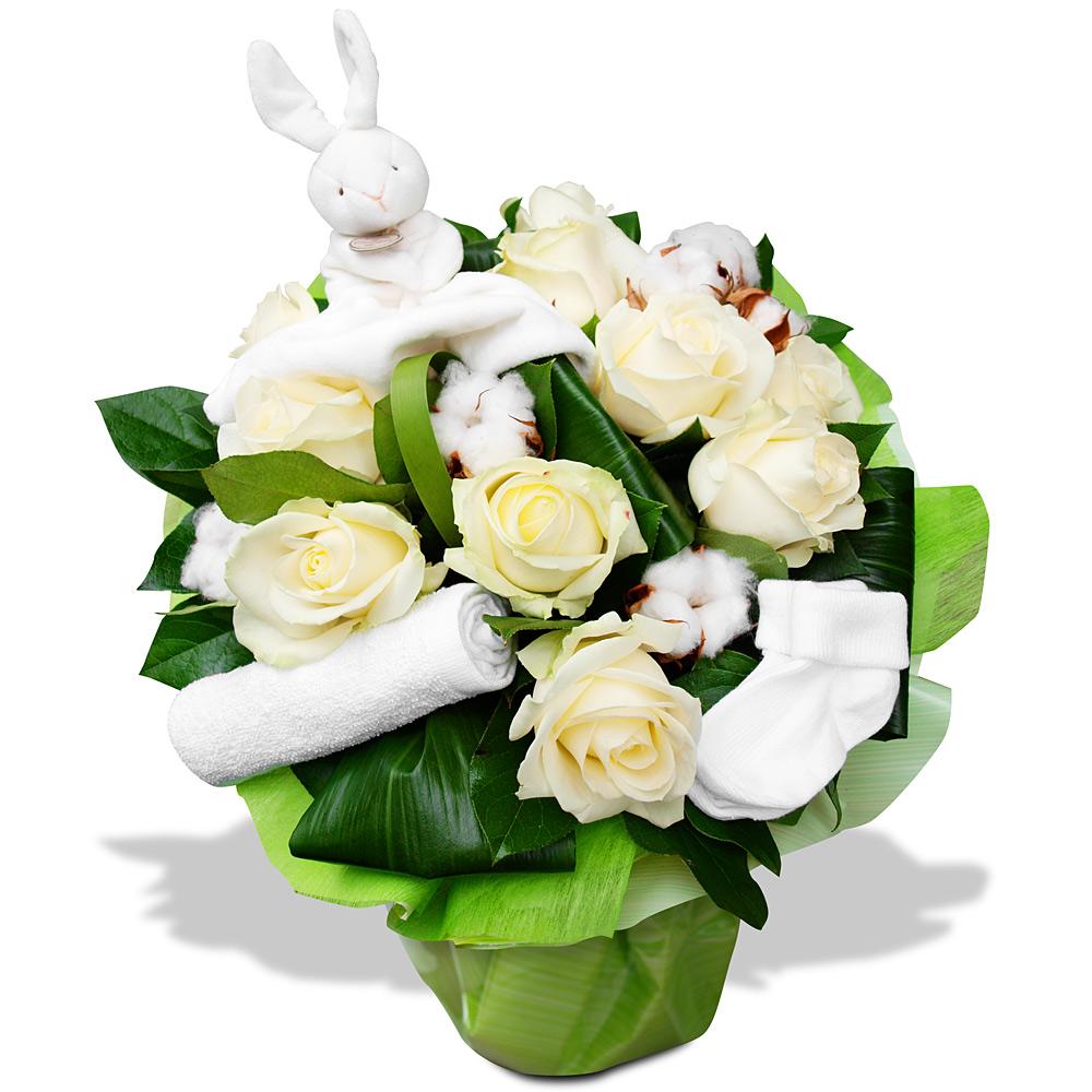 Par occasions bouquet fleurs c linous bouquet de roses for Bouquet de fleurs pour une naissance