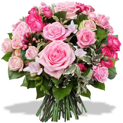 Bouquet de roses rosae livraison en 4h for Bouquet de rose