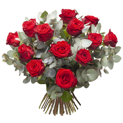 Bouquet roses rouges