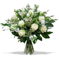 Fleurs Deuil DOM-TOM Bouquet Dernier hommage - 123fleurs