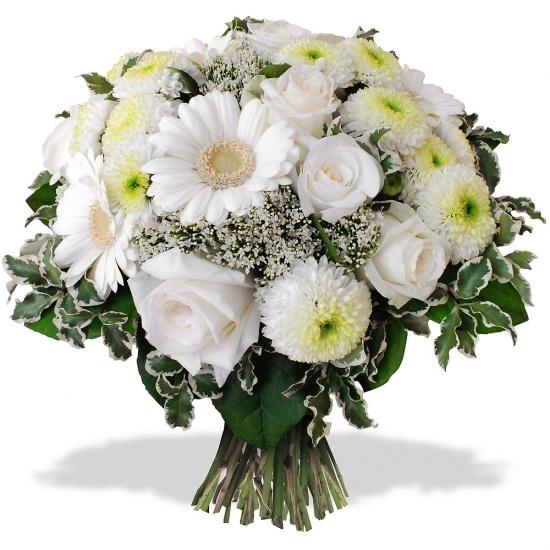 Très Fleurs blanches - Livraison de bouquets blancs| 123fleurs IW03