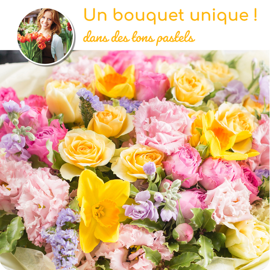 Bouquet du fleuriste - coloré-catal.papier
