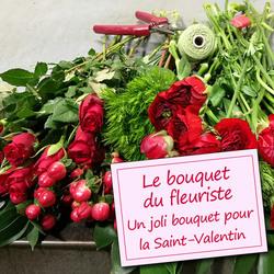 Fleurs saint valentin faites livrer un bouquet romantique for Livrer un bouquet