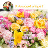 Bouquet du fleuriste tons colores