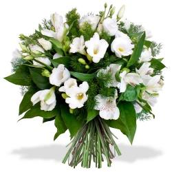 fleurs blanches livraison de bouquets blancs 123fleurs. Black Bedroom Furniture Sets. Home Design Ideas