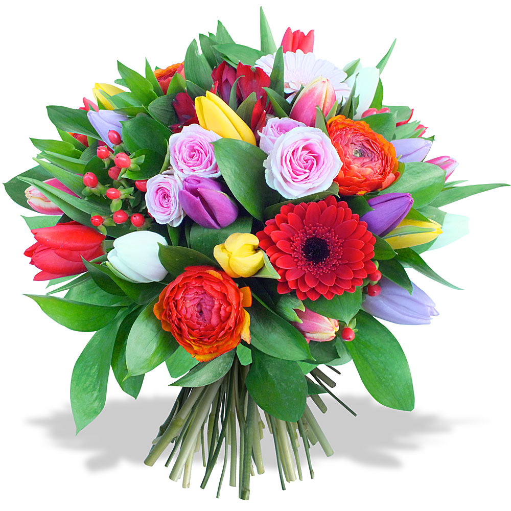 Livraison de fleurs en 4h les fleurs du fleuriste for Bouquet de fleurs 974