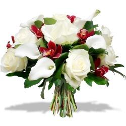Les fleurs du fleuriste Bouquet Fleurs de Corail - 123fleurs