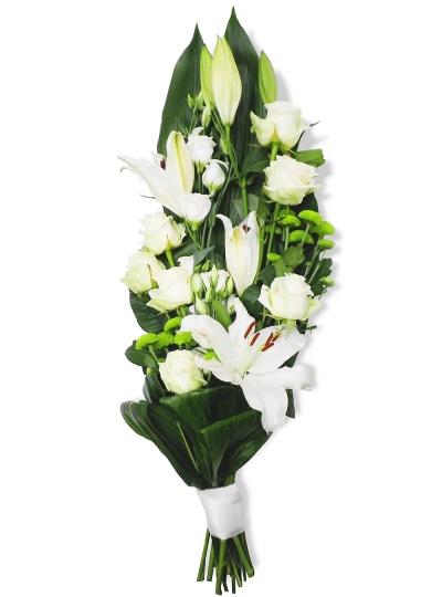 les fleurs deuil bouquet gerbe serena livraison en 4h. Black Bedroom Furniture Sets. Home Design Ideas
