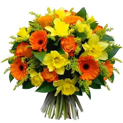 Bouquet joie bonheur livraison en 4h for Bouquet de fleurs 123