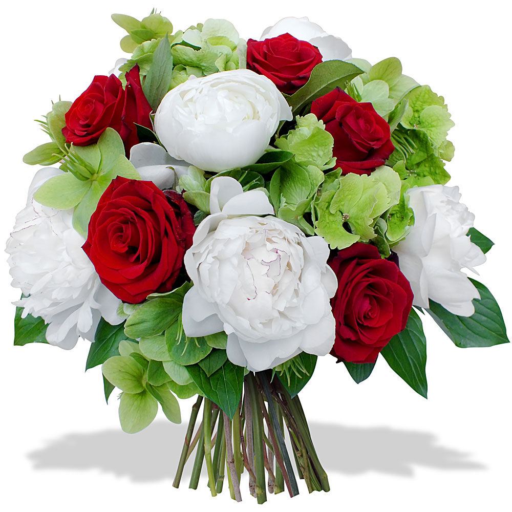 Les fleurs du fleuriste bouquet joli coeur for Bouquet de fleurs 123