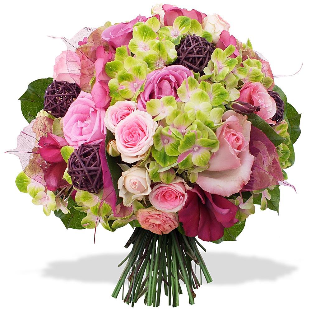 Livraison de fleurs en 4h les fleurs du fleuriste for Bouquet de fleurs un