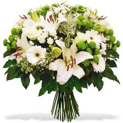 Fleurs Deuil DOM-TOM Bouquet Mémoria - 123fleurs