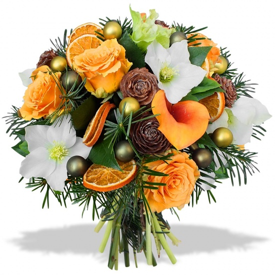 Bouquet nouvel an vitamin for Bouquet de fleurs 80 ans