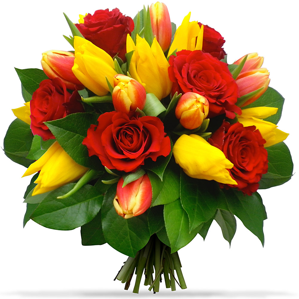 Livraison de fleurs en 4h les tulipes roses du for Livraison tulipes