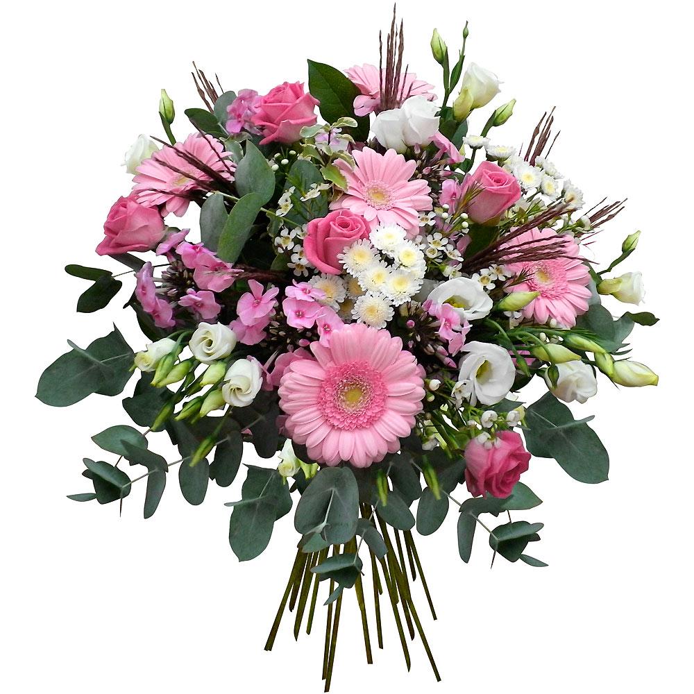 Livraison de fleurs en 4h les fleurs du fleuriste for Bouquet de fleurs pour 60 ans
