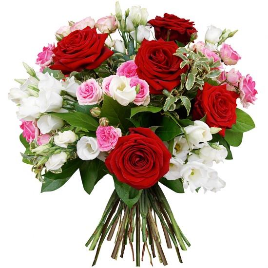 Bouquet romantica for Bouquet de fleurs pour 30 ans