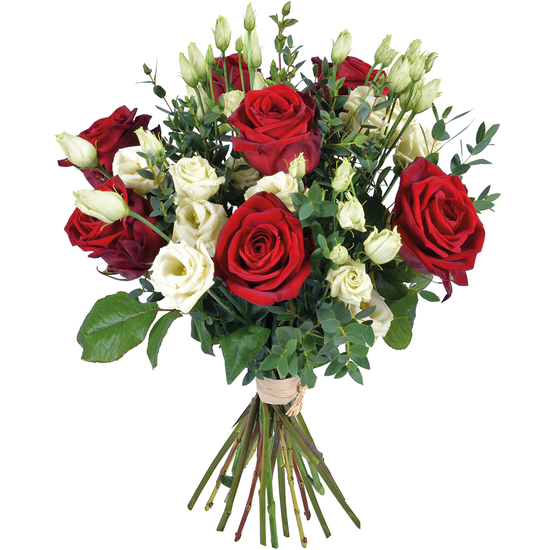 Bouquet roses op ra for Bouquet st valentin pas cher