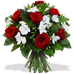 Commandez un Bouquet Rubis & Diamant