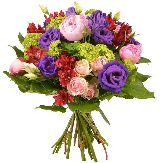 Bouquet saison pivoine for Bouquet de fleurs raiponce
