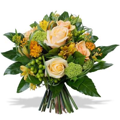 Les fleurs du fleuriste bouquet tango livraison en 4h for Livraison fleurs etranger