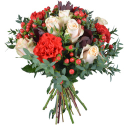 Bouquet tendrement romantique