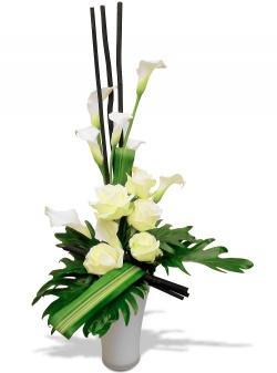 Les fleurs du fleuriste Bouquet Totem - 123fleurs