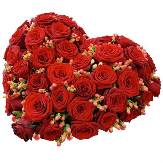 Coeur De Roses Deuil Honneur Livraison De Fleurs