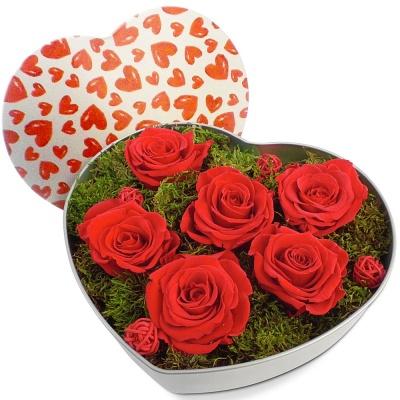 roses talisman ternelles coeur de roses eternit livraison en 4h. Black Bedroom Furniture Sets. Home Design Ideas