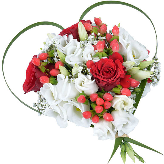 Composition coeur saint valentin for Comcomposition florale saint valentin