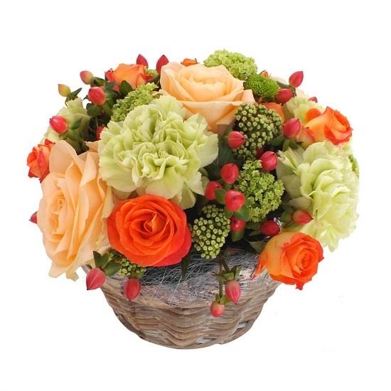 Composition De Fleurs Nougatine Livraison De Fleurs