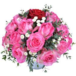 Fleurs saint valentin faites livrer un bouquet romantique for Livrer une rose