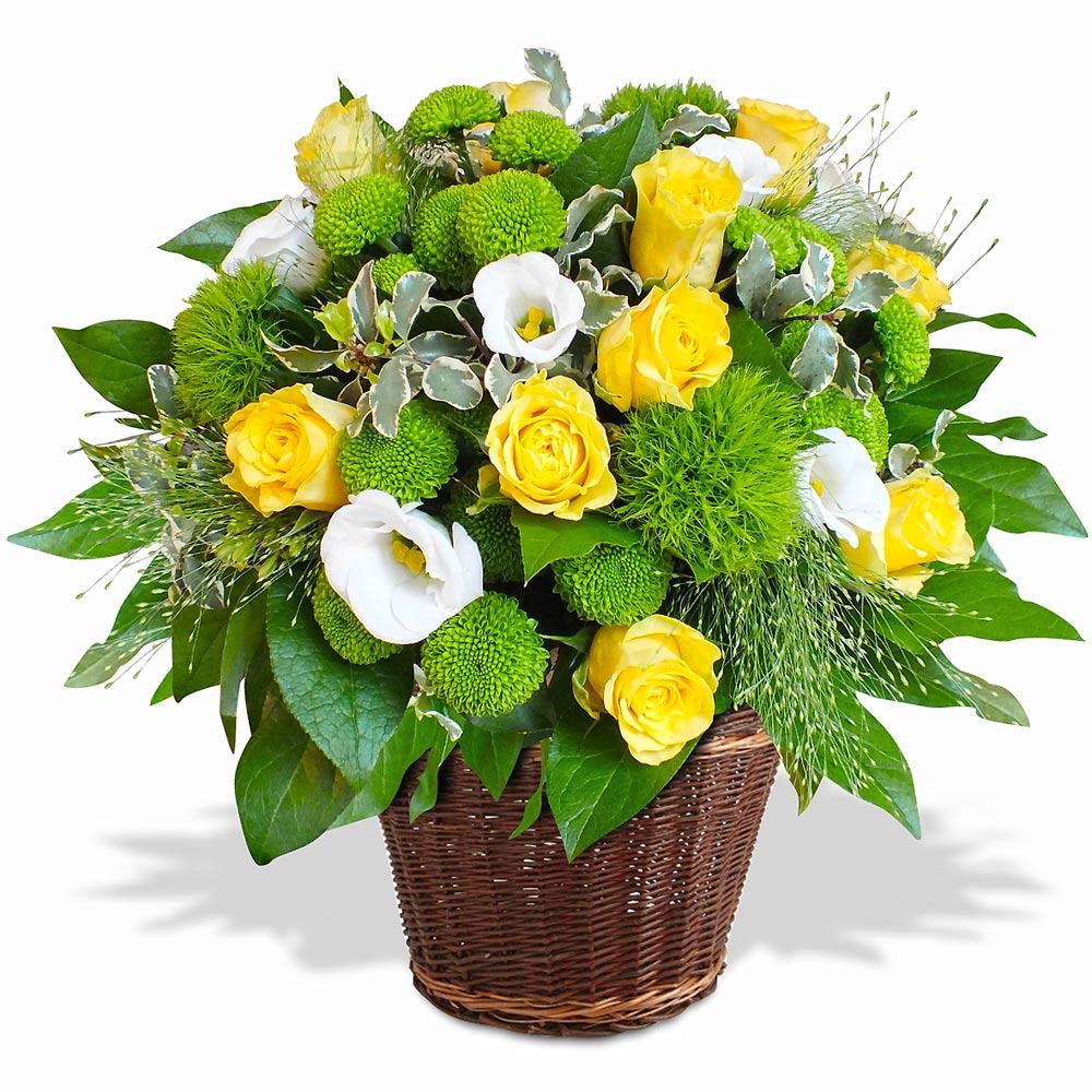 Composition de fleurs composition ensoleill e - Composition de fleur ...