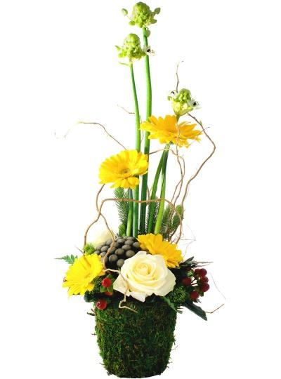 les fleurs du fleuriste composition fleurs coeur livraison en 4h. Black Bedroom Furniture Sets. Home Design Ideas