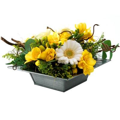 Les fleurs du fleuriste composition fleurs mois livraison en 4h - Composition de fleur ...