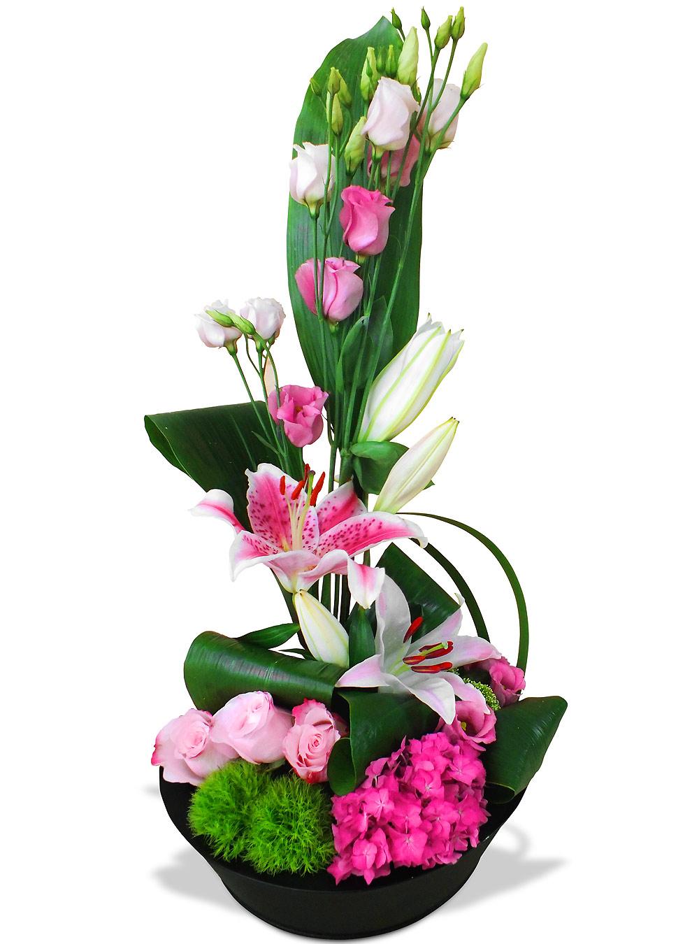 Par occasions les fleurs mariage composition folie douce - Composition fleur mariage ...