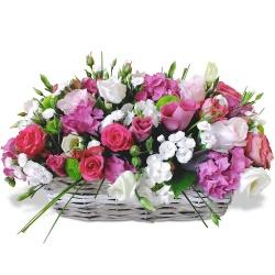 Fleurs mariage bouquet de mari e et compositions 123fleurs for Livrer des roses