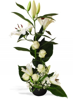 Les fleurs mariage Septième ciel - 123fleurs