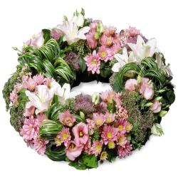 Les fleurs deuil Couronne Armoise - 123fleurs