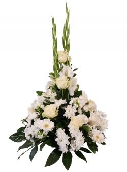 Les fleurs deuil Coussin haut Humatio - 123fleurs