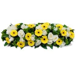 Les fleurs deuil Coussin allongé - 123fleurs